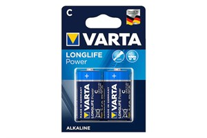 Varta High Energy Alkaline C Boy 2li Paket