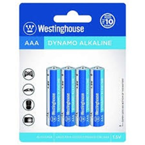 Westinghouse AAA ince pil 4 lü Paket