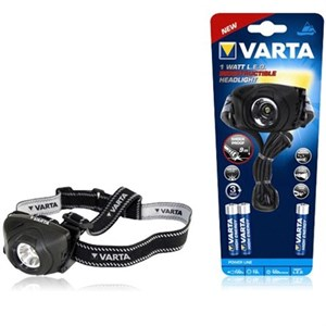Varta 17731 Led Indestructible Head 1w 3AAA  5 Adet