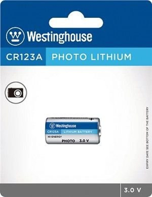 Westinghouse CR123A Photo 3V Lityum Pil